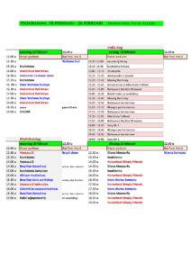 Programma za-dinsdag
