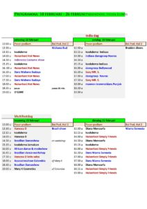 Artiestenprogramma-RAI-1e-4 dagen
