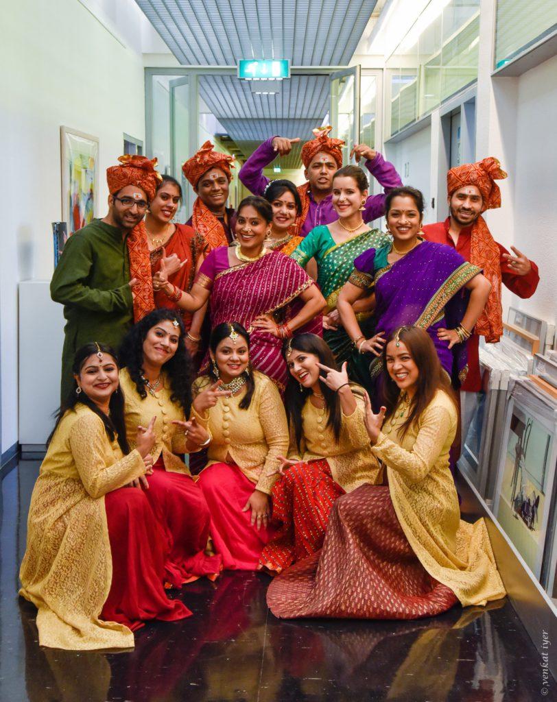 Navras-dansgroep-India
